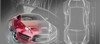 Design Fundamentals and Automotive Sketching
