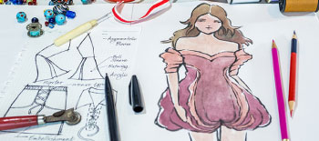 Instant Fashion Illustration with Watercolors